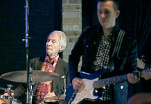 Minneapolis: Charlie at Tim Ries' gig at the Dakota Jazz Club - June 02, 2015