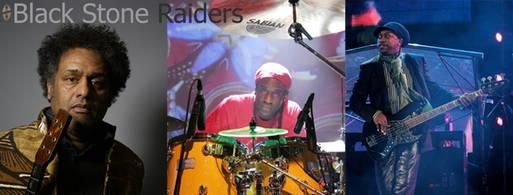 Rolling-Stones-Bassist Darryl Jones & Black Stone Raiders