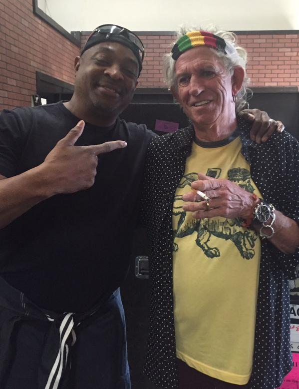 Keith and Chuck D, May 15, 2015
