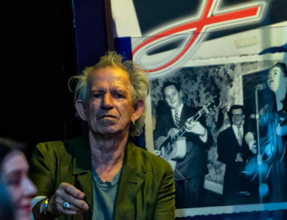 Keith at Charlie's gig