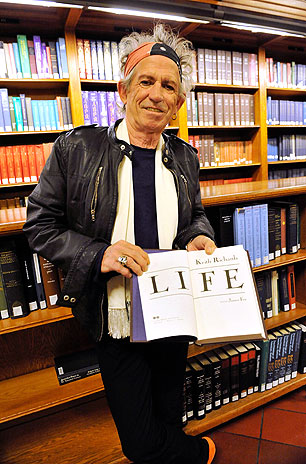 Keith at New York Public Library
