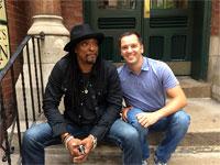 Pete meets Bernard, Chicago, June 26, 2015