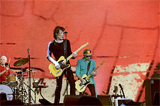 The Rolling Stones on stage - Perth II, November 1st, 2014