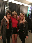 Backstage Chicago-3, May 31, Ronnie Taylor Swift and Georgia May Jagger