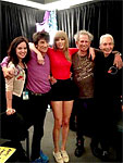 Backstage Chicago-3, May 31, Sally & Ronnie Wood, Taylor Swift, Keith and Charlie