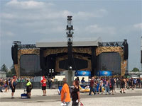 Rolling Stones Indianapolis, July 4, 2015 - The Stage