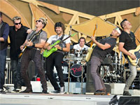 Rolling Stones Indianapolis, July 4, 2015 - Rascal Flatts on stage