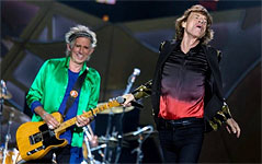 Dallas - The Rolling Stones on stage - June 06, 2015