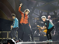 Rolling Stones on stage, Buffalo, July 11, 2015  (Photo: CARLOS ORTIZ, democratandchronicle.com)
