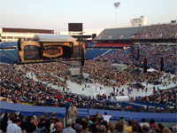 Thanks for sending this pic, Todd! Rolling Stones, Buffalo, July 11, 2015