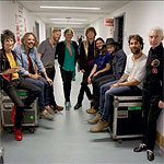 The Rolling Stones in Orlando, Florida - The Stones & The Temperance Movement backstage before the gig - June 12, 2015