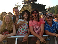 Hyde Park-2 13 July 2013 - Before the gig