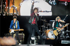 Rolling Stones, Quebec, July 15, 2015 - The band on stage