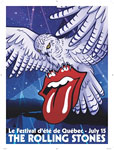 Rolling Stones, Quebec, July 15, 2015 - Poster