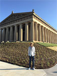 Mick: At the Nashville Parthenon - June 17, 2015