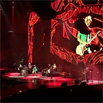 Brisbane 2014 - The band onstage - Keith's set