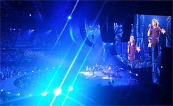 Brisbane 2014 - The band onstage