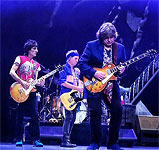 The Band on stage, Sway with Mick Taylor, LA, May 18 2013