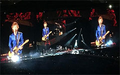 Auckland 2014 - the band on stage