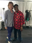 Mick meets Buddy! The Rolling Stones Milwaukee Summerfest, Wisconsin, June 23, 2015