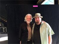 Chuck meets Marty Sammon - Keyboardist for Buddy Guy! The Rolling Stones Milwaukee Summerfest, Wisconsin, June 23, 2015