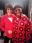 Ronnie meets Buddy! The Rolling Stones Milwaukee Summerfest, Wisconsin, June 23, 2015