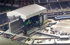 The stage at San Diego