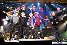 The Rolling Stones on stage, Canada, May 25 2013