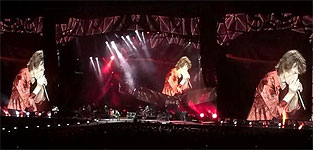The Stones on stage at the Adelaide Oval Adelaide, October 25, 2014