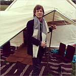 Glastonbury 2013: Mick and his Yurt