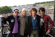 Glastonbury 2013 - Backstage before the gig