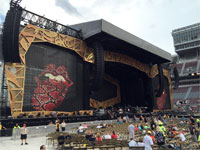 The stage, Columbus, Ohio, May 30, 2015
