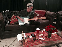 Keith in Camp X-Ray, preparing for the gig, Columbus, Ohio, May 30, 2015