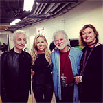 Before the show, Chicago, United Center, May 31 2013