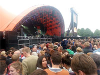 The Rolling Stones Roskilde, July 3, 2014 - the stage