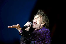 The Rolling Stones Roskilde, July 3, 2014 - the band's on