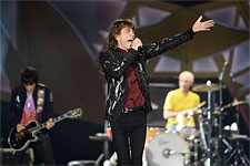The Rolling Stones Stockholm, July 1, 2014 - The band on stage! (pic by Robin Lorentz-Allard, aftonbladed.se)