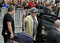 The Rolling Stones Stockholm, July 1, 2014 - on their way to the gig - thx to Buy buy Johnny, Aftonbladed, Jerker Ivarssonn, P-O Sännås