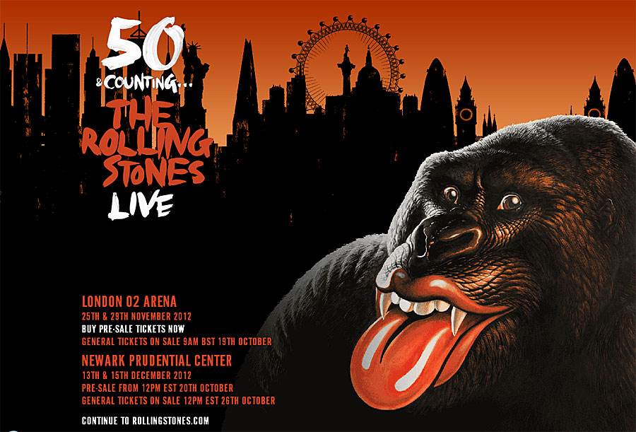 It's The Rolling Stones: 50 Years And Counting-TOUR!!!
