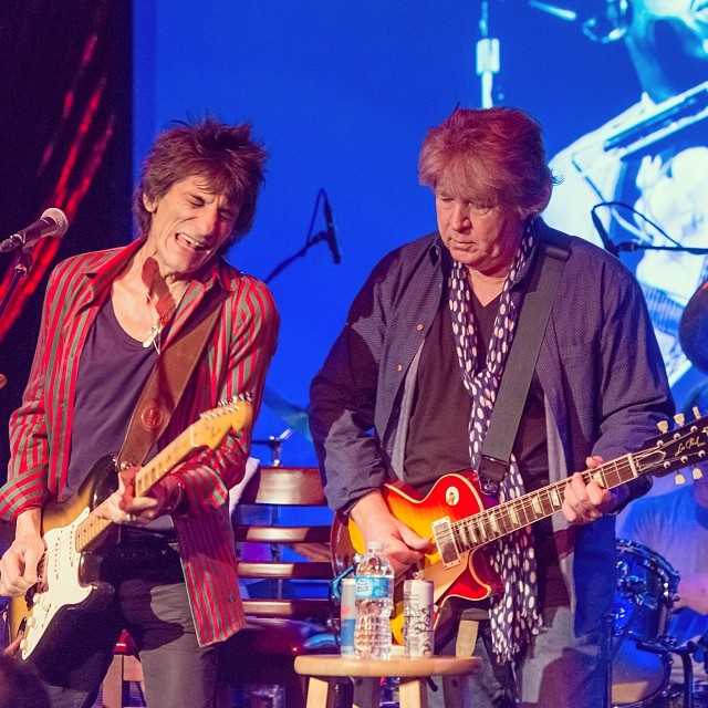Ronnie & Mick Taylor in NYS, Nov. 2013