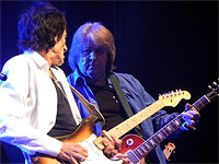 The Ronnie Wood Band, joined by Mick Taylor, Bobby Womack, Paul Weller and Mick Hucknall, live at the London Bluesfest at the Royal Albert Hall on 1st November 2013