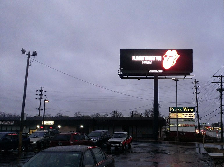Stones Billboard in Columbus
