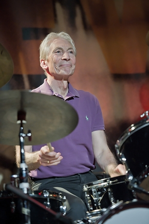 Charlie Watts - ABC&D Iridium Jazz Club, NYC