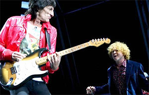 Faces mick hicknall ronnie wood denmark