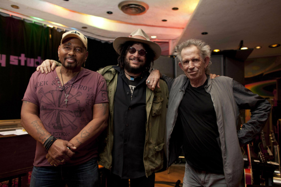 Aaron Neville's new record was produced by Keith Richards and Blue Note Records President Don Was