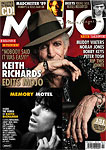 Keith edits the April issue of Mojo Magazine
