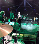 Rehearsals with Willie Nelson and Don Was
