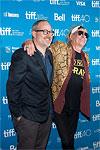 Keith and Morgan Neville at the Toronto International Film Festival, September 17, 2015