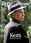 Keith on the cover of the Rolling Stone, October 2015