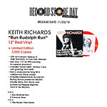 Black Friday release of Keith Richards Run Rudolph Run (40th Anniversary)